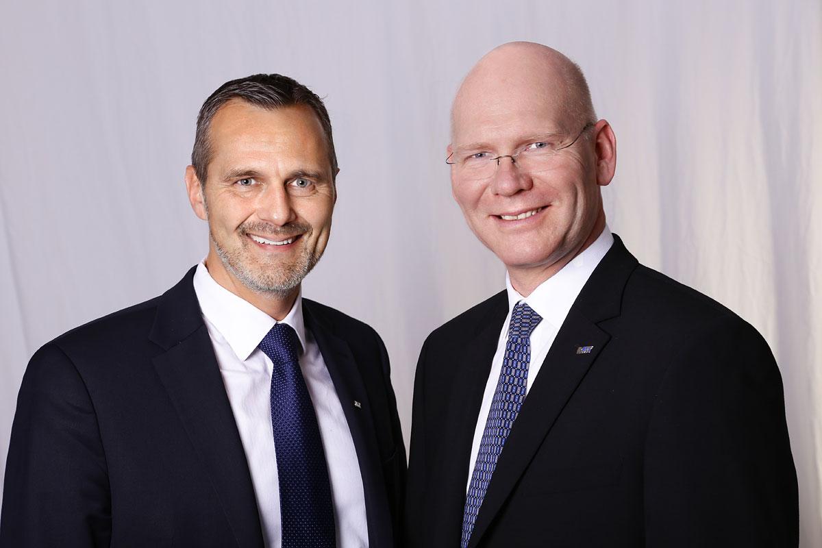 Ulrich Winkhaus and Knut Sauerteig, Managing Directors